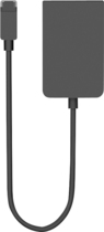 Microsoft - miniDisplay-to-VGA Video Adapter for Surface Pro (Windows 8 Pro Version) Tablets - Black