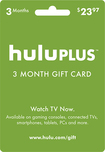 Hulu - Hulu Plus 3-Month Gift Card - Green