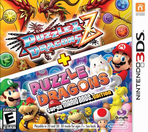 Puzzle & Dragons Z + Puzzle & Dragons Super Mario Bros. Edition - Nintendo 3DS|Nintendo 2DS|Nintendo 3DS XL