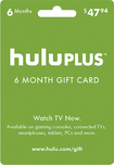Hulu - Hulu Plus 6-Month Gift Card