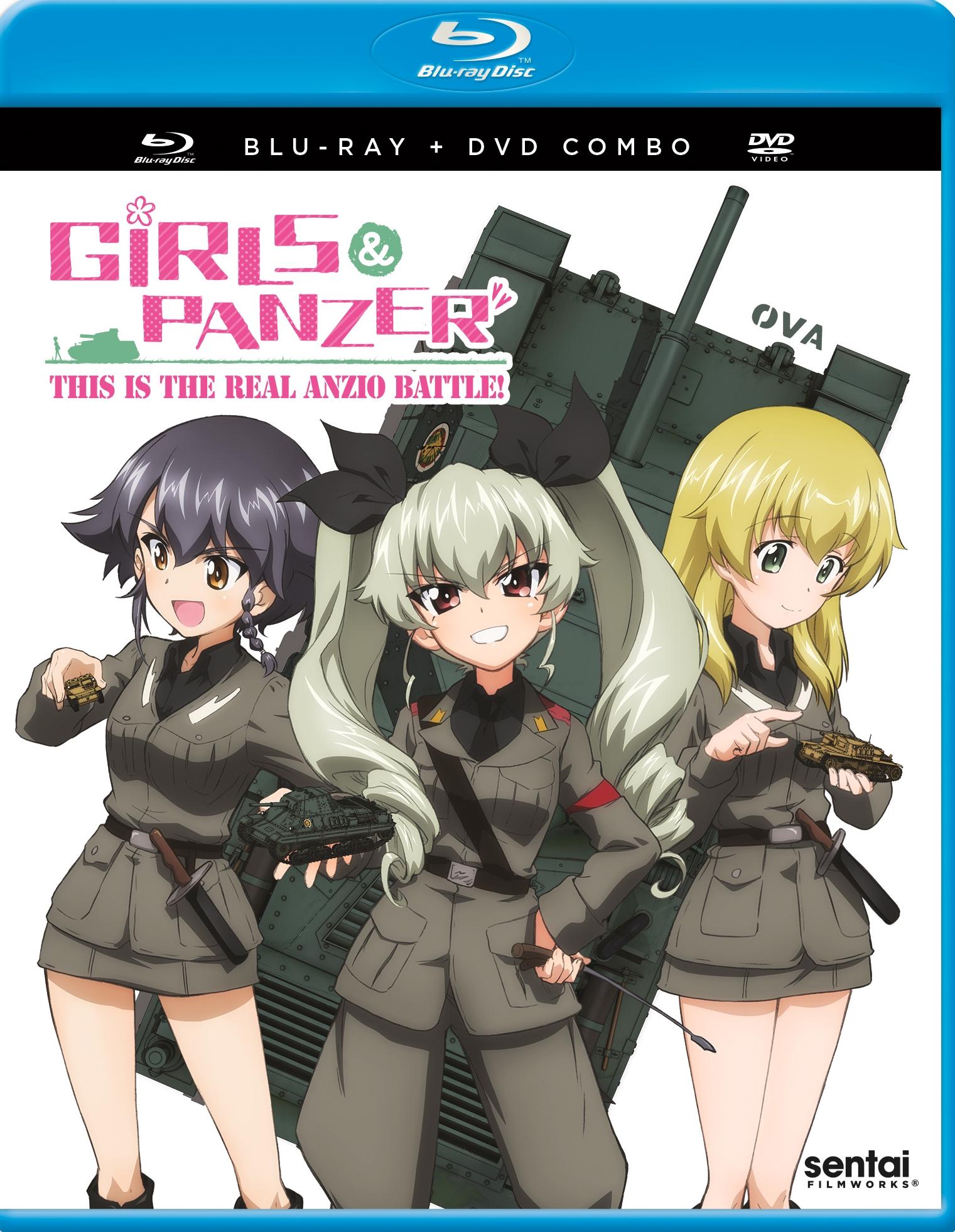 Girls Und Panzer: This Is The Real Anzio Battle! [blu-ray/dvd] [2 Discs] 32390281