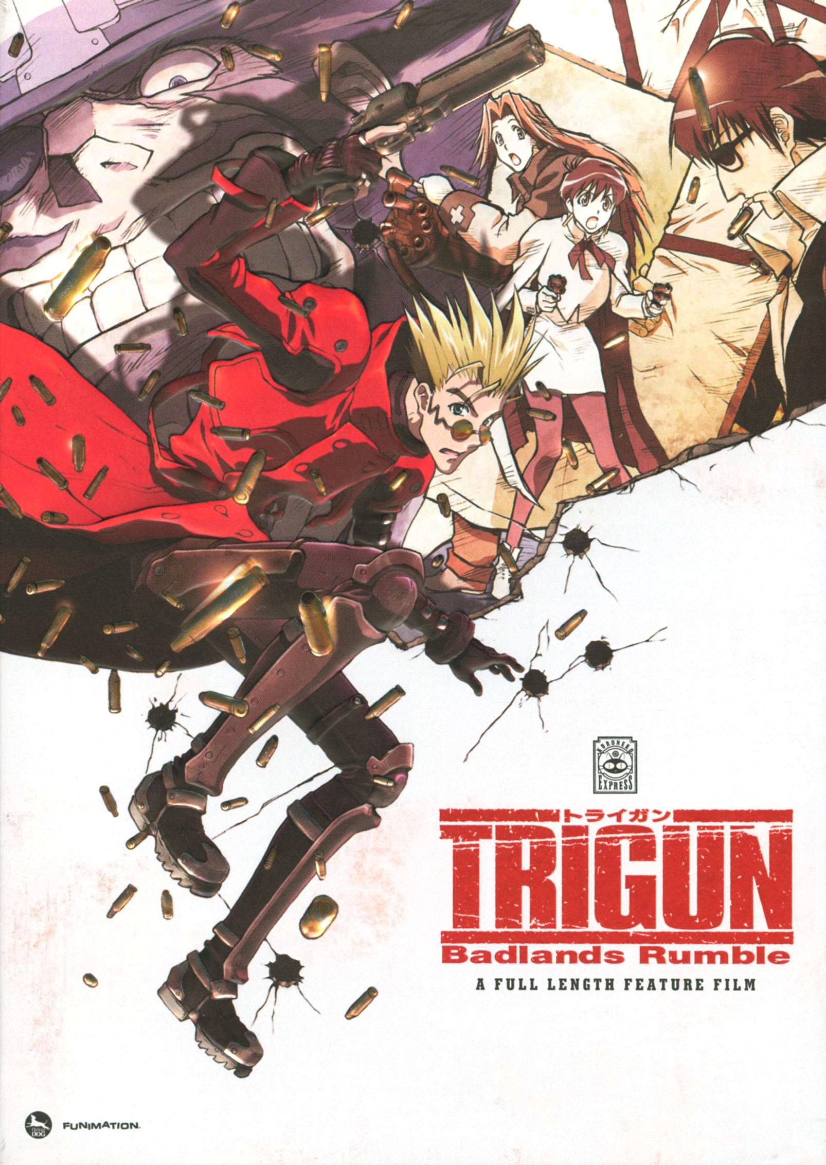 Trigun: Badlands Rumble (dvd) 3244127