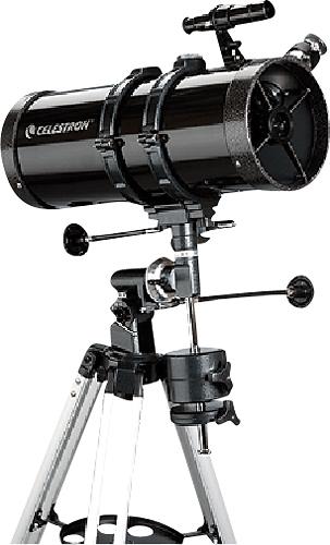 Celestron - PowerSeeker 127EQ Newtonian Reflector Telescope - Black