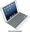 ZAGG - ZAGGkeys Folio Keyboard Case for Apple® iPad® mini 2 and iPad mini 3 - White