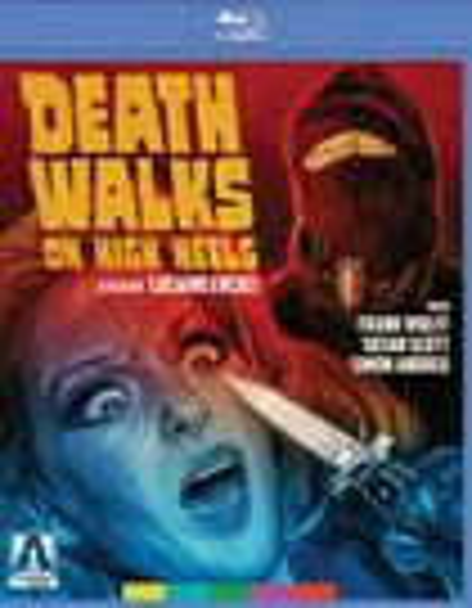 Death Walks On High Heels [blu-ray] 32516489