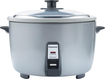Panasonic - 46-Cup Large-Capacity Electric Rice Cooker - Silver
