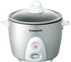 Panasonic - 3.3-Cup Automatic Rice Cooker/Steamer - Silver