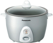 Panasonic - 10 Cup Rice Cooker & Steamer - Silver 3254054