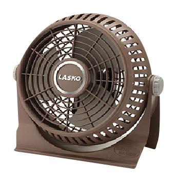 """Lasko - 10"""" Breeze Machine Fan - Brown 3255105"""