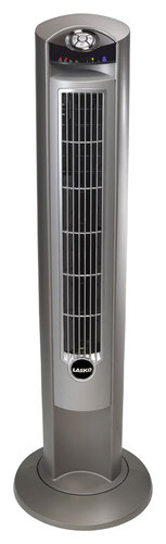 Lasko - Wind Curve Platinum (White) Fan - Platinum