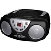 Jensen - Radio/CD Player Boombox - Black