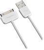 Rocketfish™ Mobile - Charge/Sync Cable for Apple® iPhone®, iPad® and iPod® - White