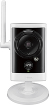 D-Link - Outdoor High-Definition Wi-Fi Video Security Camera - White