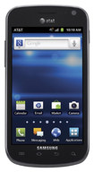 Samsung - Exhilarate I577 4G Cell Phone (Unlocked) - Black