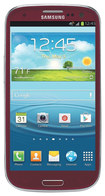 Samsung - Galaxy S III 4G Cell Phone (Unlocked) - Red