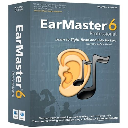Emedia Music EarMaster 6 Professional - Music Training Course - CD
