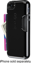 Speck - Shellcard Case for Apple® iPhone® 5 and 5s - Black/Slate