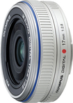 Olympus - M.zuiko 17mm F\/2.8 Wide-angle Pancake Lens For Olympus Micro Four Thirds Digital Cameras - Silver