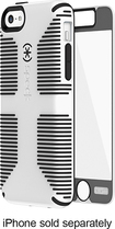 Speck - CandyShell Grip + Faceplate Case for Apple® iPhone® 5c - Black/White