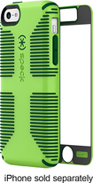Speck - CandyShell Grip + Faceplate Case for Apple® iPhone® 5c - Green