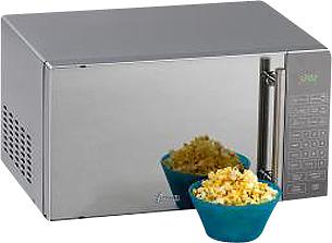 Avanti - 0.8 Cu. Ft. Compact Microwave - Silver
