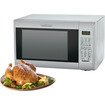 Cuisinart - 1.2 Cu. Ft. Mid-Size Microwave - Stainless Steel