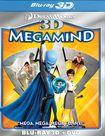 Megamind 3d [2 Discs] [3d] [blu-ray/dvd] 3294033