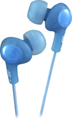 JVC - Gumy Soft Earbud Headphones - Blue