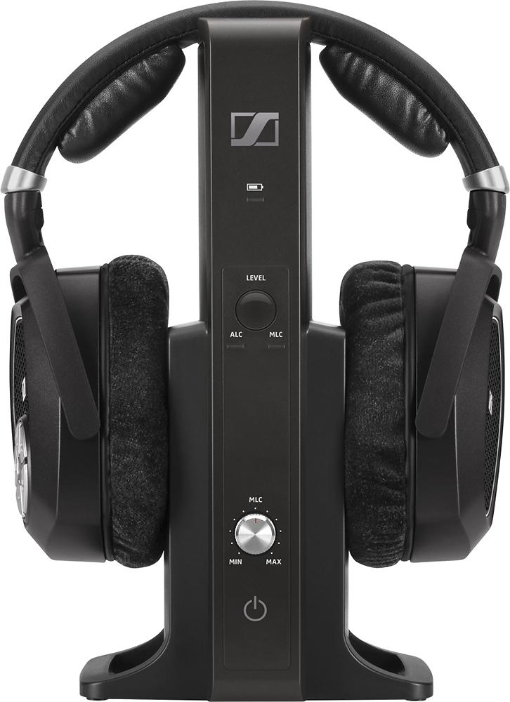 Sennheiser - Wireless Over-the-Ear Headphones - Black