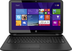 "HP - Geek Squad Certified Refurbished 15.6"" Touch-Screen Laptop - Intel Core i3 - 4GB Memory - 500GB HDD - Black"