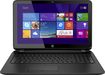 "HP - Geek Squad Certified Refurbished 15.6"" Laptop - AMD A6-Series - 4GB Memory - 750GB Hard Drive - Black"