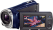 Sony - HDR-PJ340 16GB HD Flash Memory Camcorder - Blue