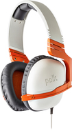 Polk Audio - Striker P1 Wired Stereo Gaming Headset for PlayStation 4, Nintendo Wii U and Windows - Orange