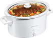 Hamilton Beach - 8-Quart Slow Cooker - White