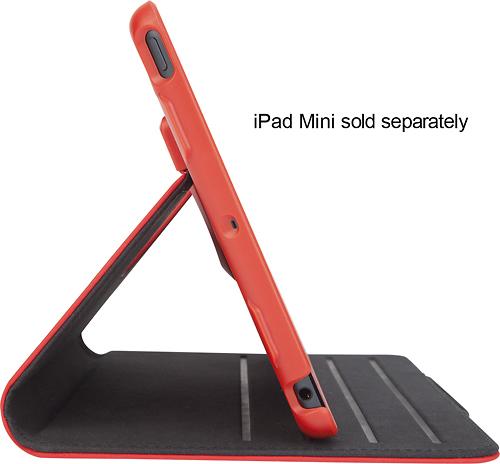 Targus - Versavu Slim 2 Case for Apple® iPad® mini and iPad mini with Retina display - Fiery Red
