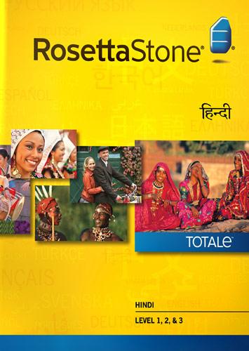Rosetta Stone Version 4 TOTALe: Hindi Level 1, 2 & 3 - Mac|Windows