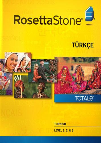 Rosetta Stone Version 4 TOTALe: Turkish Level 1, 2 & 3 - Mac|Windows