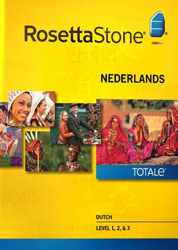 Rosetta Stone Version 4 TOTALe: Dutch Level 1, 2, & 3 - Mac|Windows