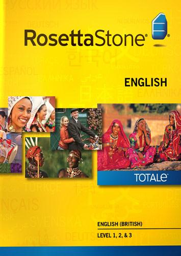 Rosetta Stone Version 4 TOTALe: English (British) Level 1, 2 & 3 - Mac|Windows