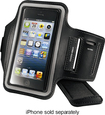 Insignia™ - Armband Case for Apple® iPhone® 5s - Black