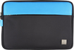 Platinum - Sleeve for Microsoft Surface, Surface 2 and Surface Pro - Black/Cyan
