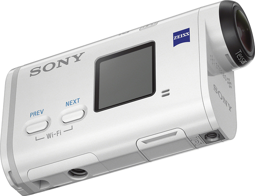 Sony - X1000 HD Action Camcorder with Remote - White