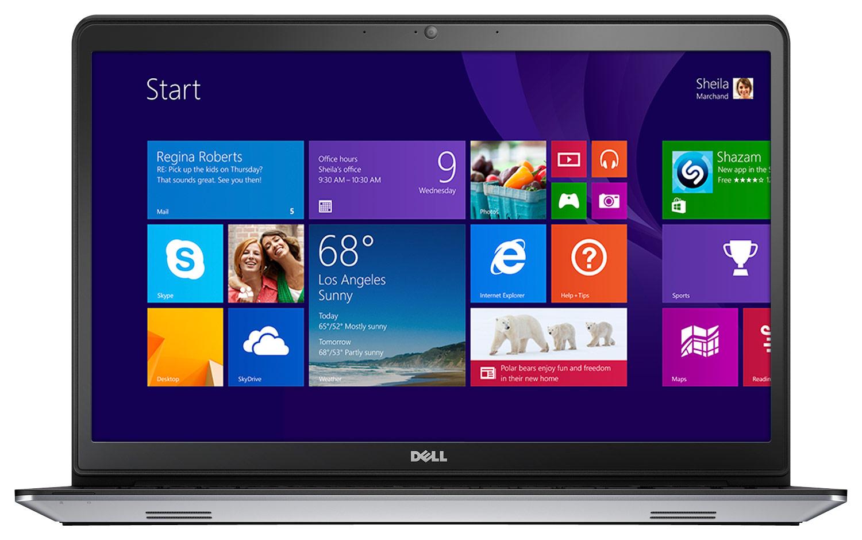 "Dell - Inspiron 15.6"" Touch-Screen Laptop - Intel Core i7 - 16GB Memory - 1TB + 8GB Hybrid Hard Drive - Silver"
