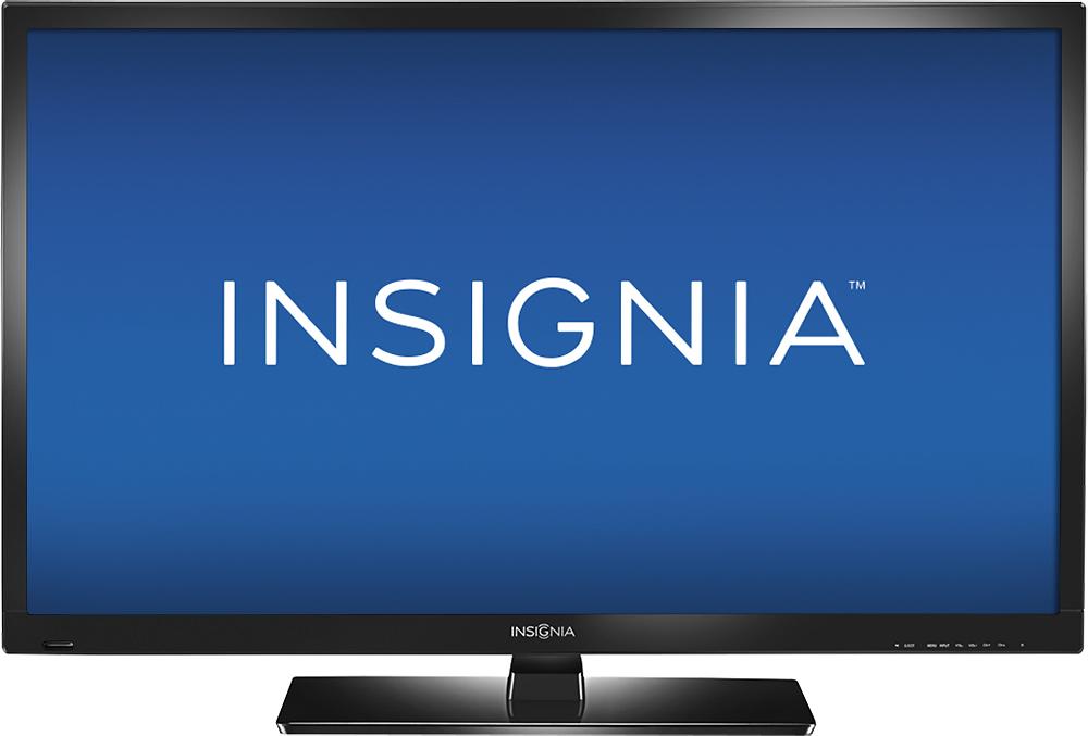 "Insignia™ - 32"" Class (31-1/2"" Diag.) - LED - 720p - HDTV DVD Combo - Black"