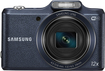 Samsung - WB50F 16.2-Megapixel Digital Camera - Navy