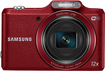 Samsung - WB50F 16.2-Megapixel Digital Camera - Red