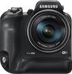 Samsung - WB2200F 16.4-Megapixel Digital Camera - Black