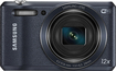 Samsung - WB35F 16.2-Megapixel Digital Camera - Navy