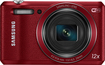 Samsung - WB35F 16.2-Megapixel Digital Camera - Red