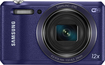 Samsung - WB35F 16.2-Megapixel Digital Camera - Purple